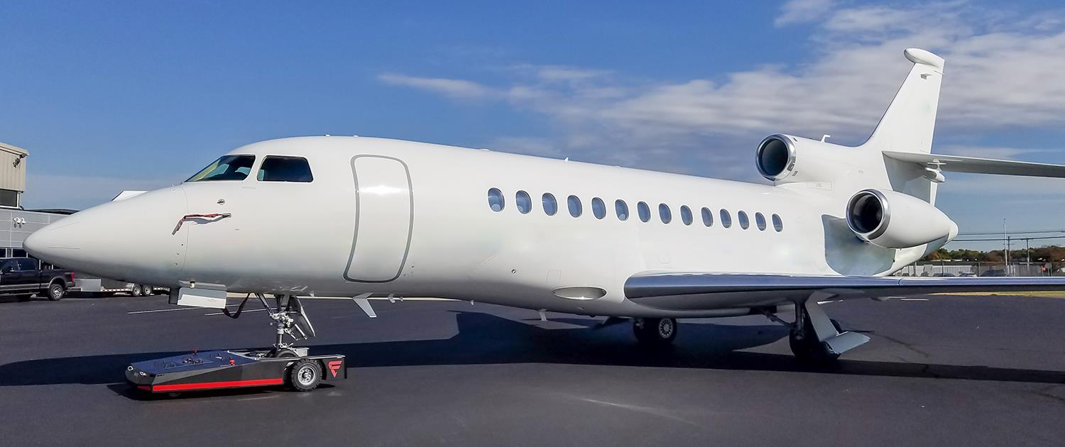 TowFLEXX TF5 is used with a Dassault Falcon 7X