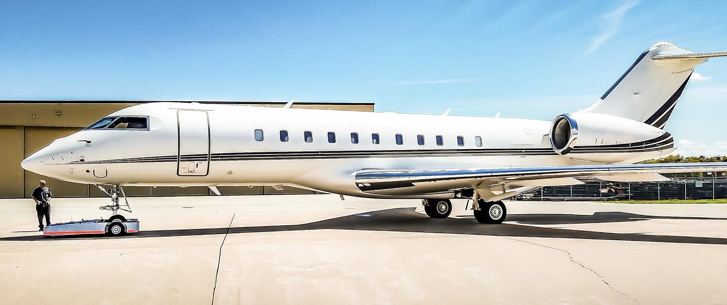 TowFLEXX TF5 is used with Bombardier Global Jet